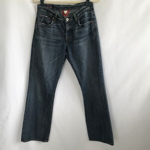 Lucky Brand Straight Leg Blue Jeans